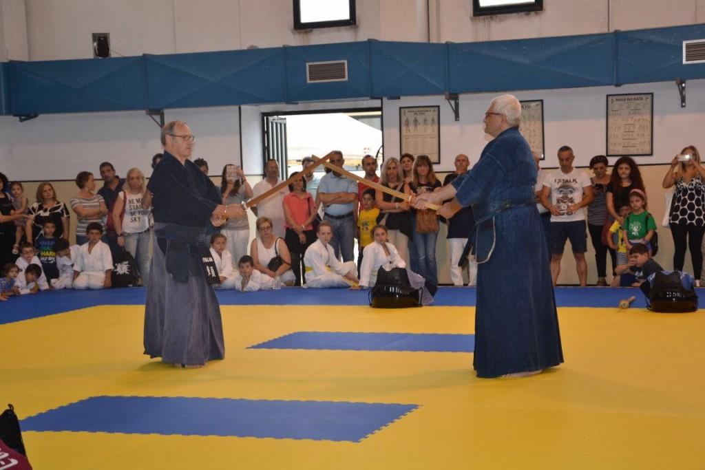 Dimostrazione di kendo