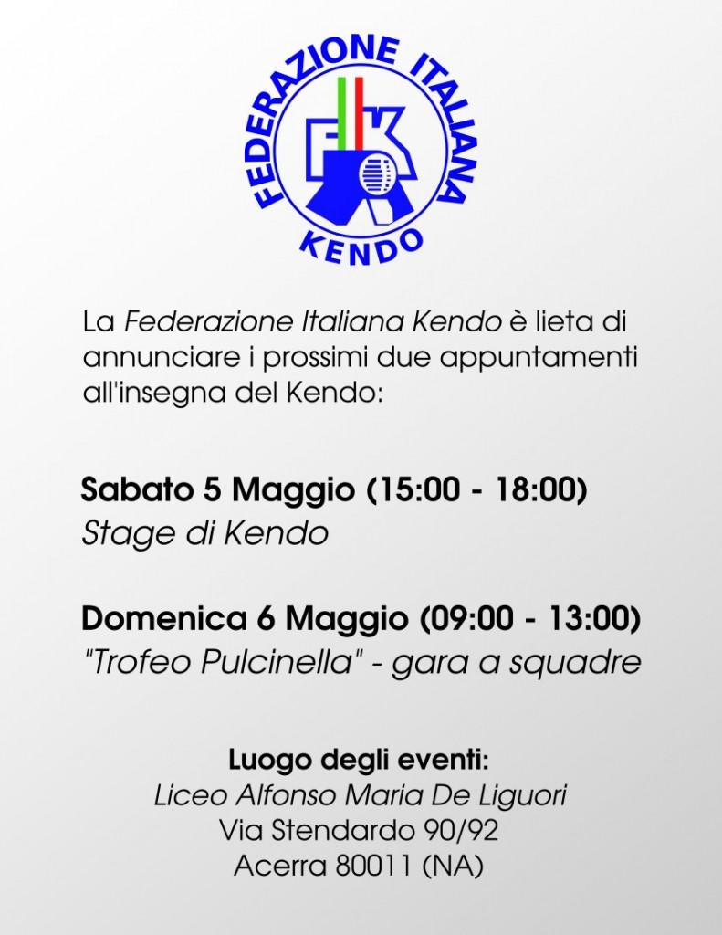 """Stage di Kendo e """"Trofeo Pulcinella"""""""